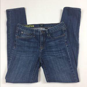 J.crew toothpick skinny jeans size 26